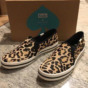 b67cf957567a Keds Shoes - NEW Keds x Kate Spade Calf Hair Slip On